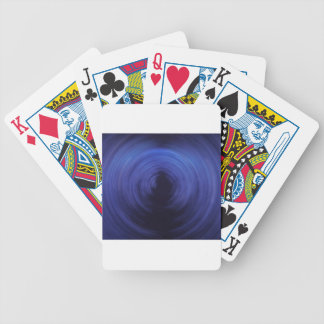 Spinning Lights Bicycle Playing Cards