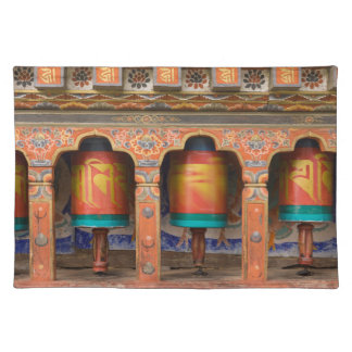 Spinning Prayer Wheels Placemat
