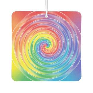 Spinning Rainbow Car Air Freshener