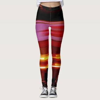 Spinning Spaceship Leggings