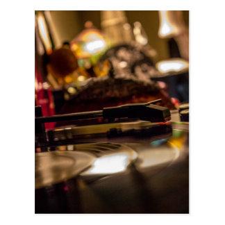 Spinning Vinyl Postcard