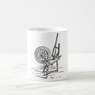 Spinning Wheel Coffee Mug