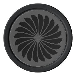 Spinning Wheel Poker Chips