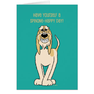 Spinone brightly Smile Card