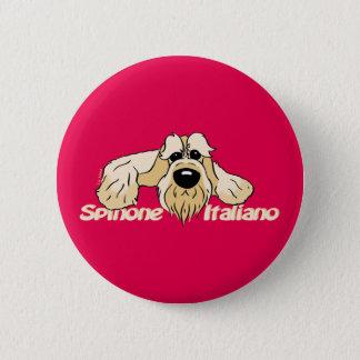 Spinone Italiano brightly head Cute 6 Cm Round Badge