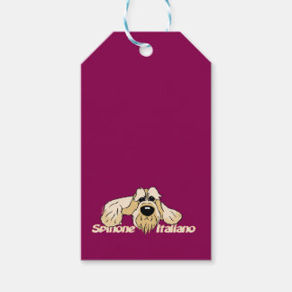 Spinone Italiano brightly head Cute Gift Tags