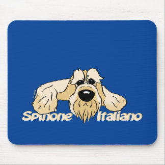 Spinone Italiano brightly head Cute Mouse Pad