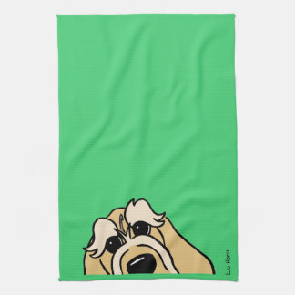 Spinone Italiano brightly head Tea Towel