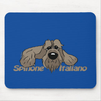 Spinone Italiano dkl. Head Cute Mouse Pad