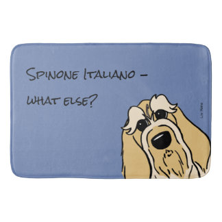 Spinone Italiano - does else what? Bath Mat