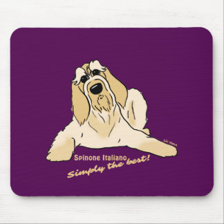 Spinone Italiano light Simply the best! Mouse Pad