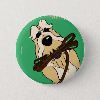 Spinone Italiano - therapist 6 Cm Round Badge