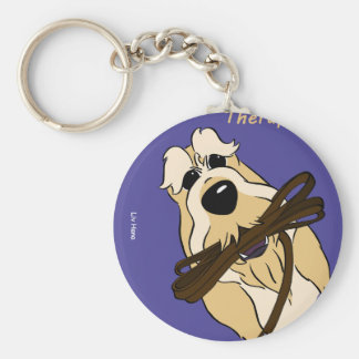 Spinone Italiano - therapist Key Ring