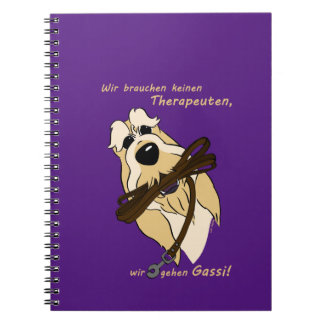 Spinone Italiano - therapist Spiral Notebook