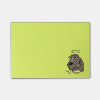 Spinone Nice dog Post-it Notes