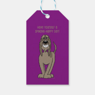 Spinone Smile Gift Tags