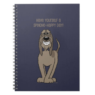 Spinone Smile Spiral Notebook