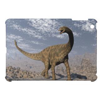 Spinophorosaurus dinosaur walking in the desert cover for the iPad mini