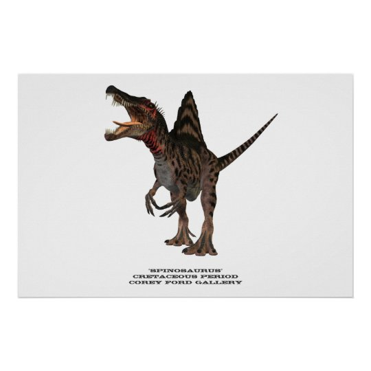 Spinosaurus 01 Print