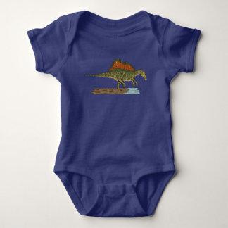 Spinosaurus Baby Bodysuit