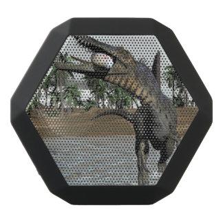 Spinosaurus dinosaur eating fish - 3D render Black Bluetooth Speaker