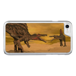 Spinosaurus dinosaur fighting - 3D render Carved iPhone 7 Case