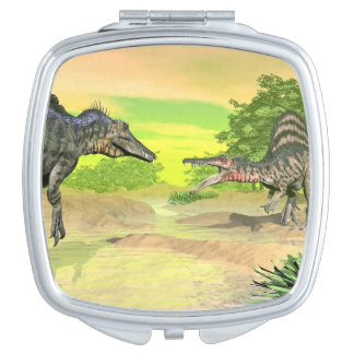 Spinosaurus dinosaurs fight - 3D render Mirrors For Makeup
