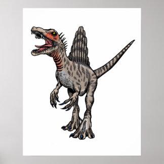 Spinosaurus wall poster