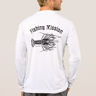 Spiny Lobster Fishing Mission Shirt