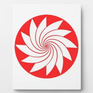 spiral3 plaque