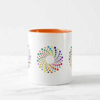 SPIRAL 2 Two-Tone COFFEE MUG