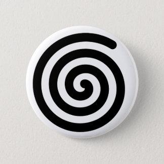 Spiral 6 Cm Round Badge