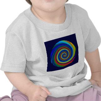 Spiral Blur Tee Shirts