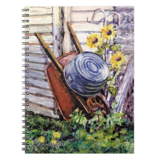 """Spiral-bound lined-paper notebook 6.5"""" x 8.75"""""""