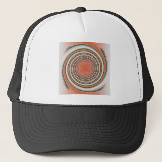 Spiral bound trucker hat