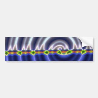 Spiral Car Bumper Sticker