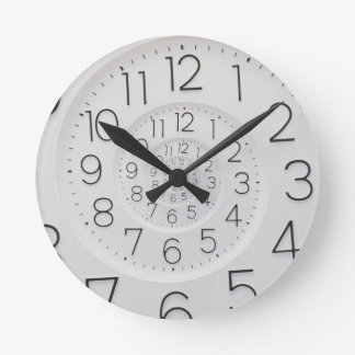 Spiral Clock Droste Wall Clock Medium