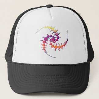 Spiral Crop Circle Trucker Hat