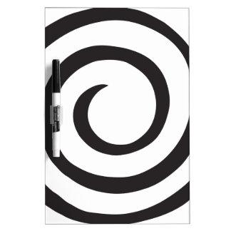 Spiral Dry Erase Board