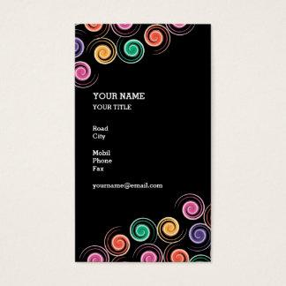 Spiral Elegant Business Card
