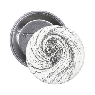 Spiral Encompassing 6 Cm Round Badge