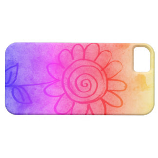 spiral flower iPhone 5 covers