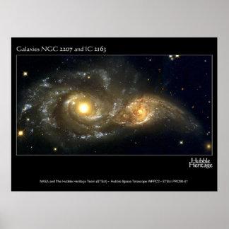 Spiral Galaxies Poster