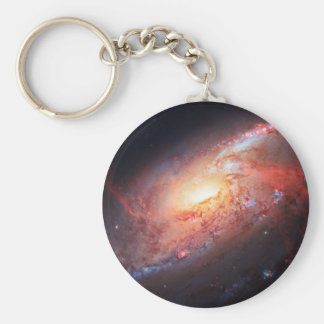 Spiral Galaxy Andromeda Milky Way Universe Stars Key Chains