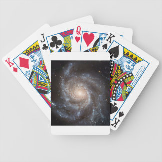 Spiral Galaxy Bicycle Playing Cards