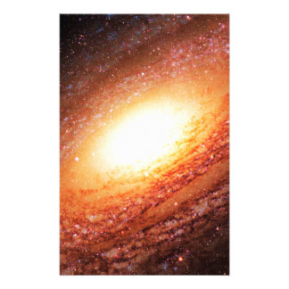 Spiral galaxy customised stationery