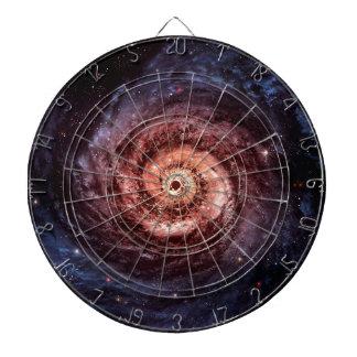 Spiral galaxy dart board