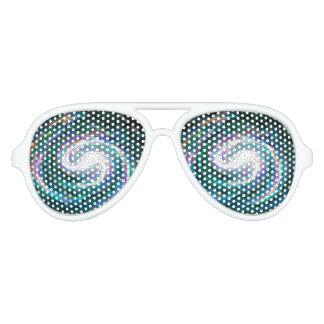 Spiral Galaxy in Space Aviator Sunglasses
