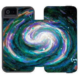 Spiral Galaxy in Space Incipio Watson™ iPhone 5 Wallet Case