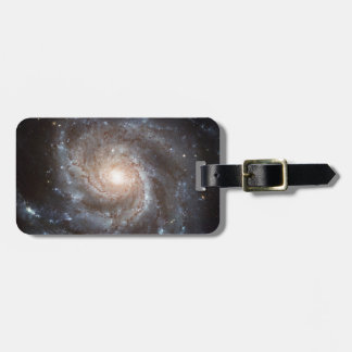 Spiral Galaxy Luggage Tag